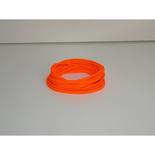 1m Kordel 4mm - NEON ORANGE