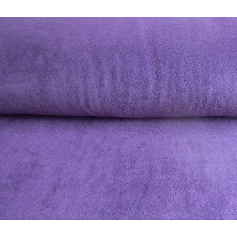 Fleece uni - AUBERGINE