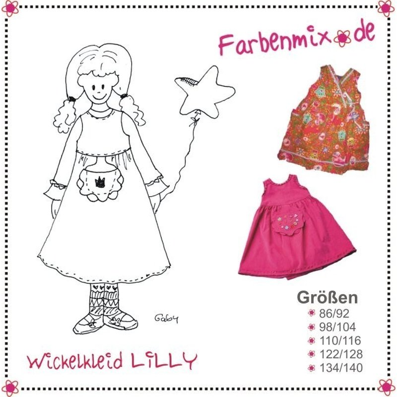 farbenmix LILLY - Schnittmuster