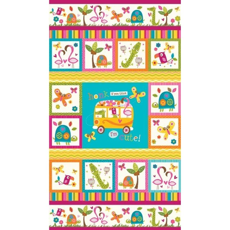 FLAMINGO FLING - Panel - US Design