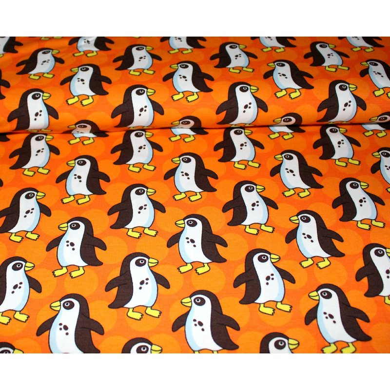 PinguParade - ORANGE - Bio Stretchjersey