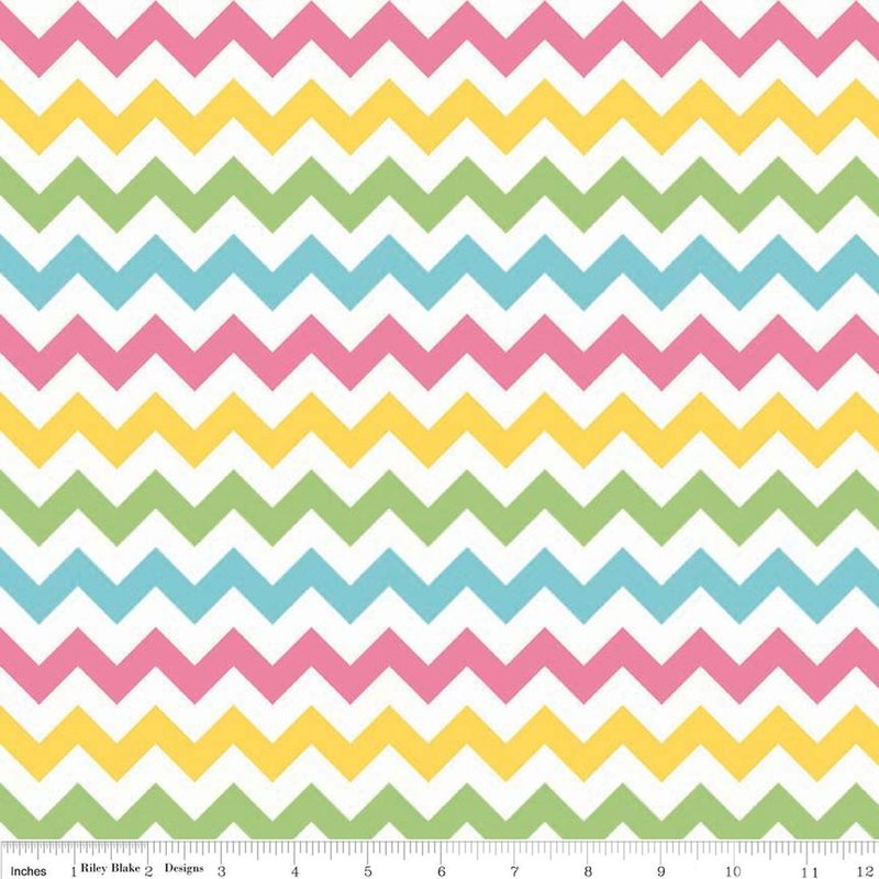 REST 1,12m - Cotton Chevron - GIRL small - Riley Blake