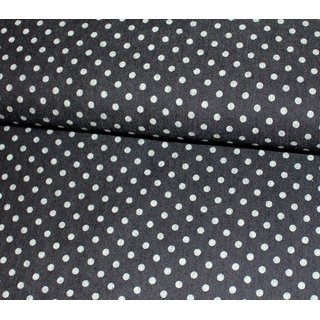 Stretch Jeans - DOTS 8mm - schwarz