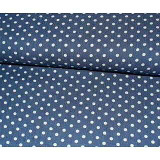 Stretch Jeans - DOTS 8mm - blau
