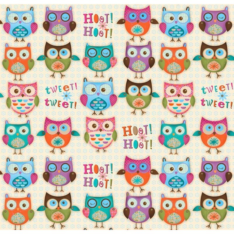 WOODLAND CRITTERS - Eulen - US Design