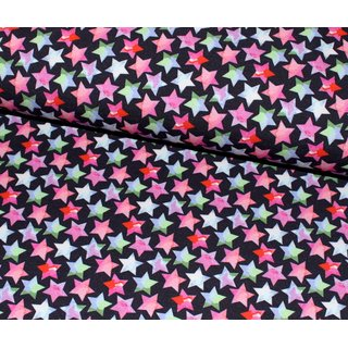 Jersey - Digital Small Stars - schwarz - multi