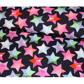Jersey - Digital Big Stars - schwarz - multi
