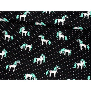 Jersey - UNICORN MAGIC - SCHWARZ / mint