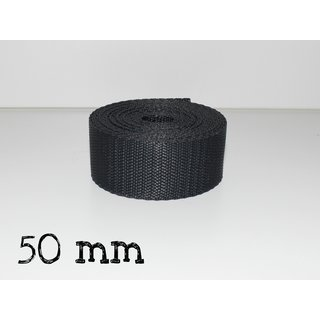 1m Gurtband 50mm - ANTHRAZIT (023)