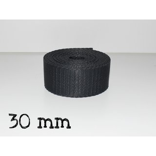 1m Gurtband 30mm - ANTHRAZIT (023)